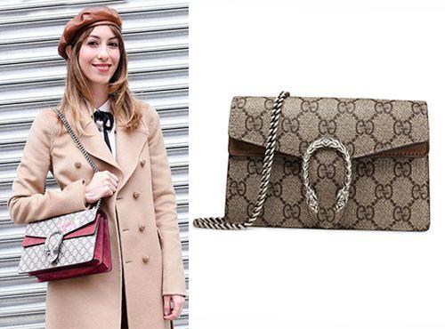 Женская сумка-клатч из кожи Гуччи
