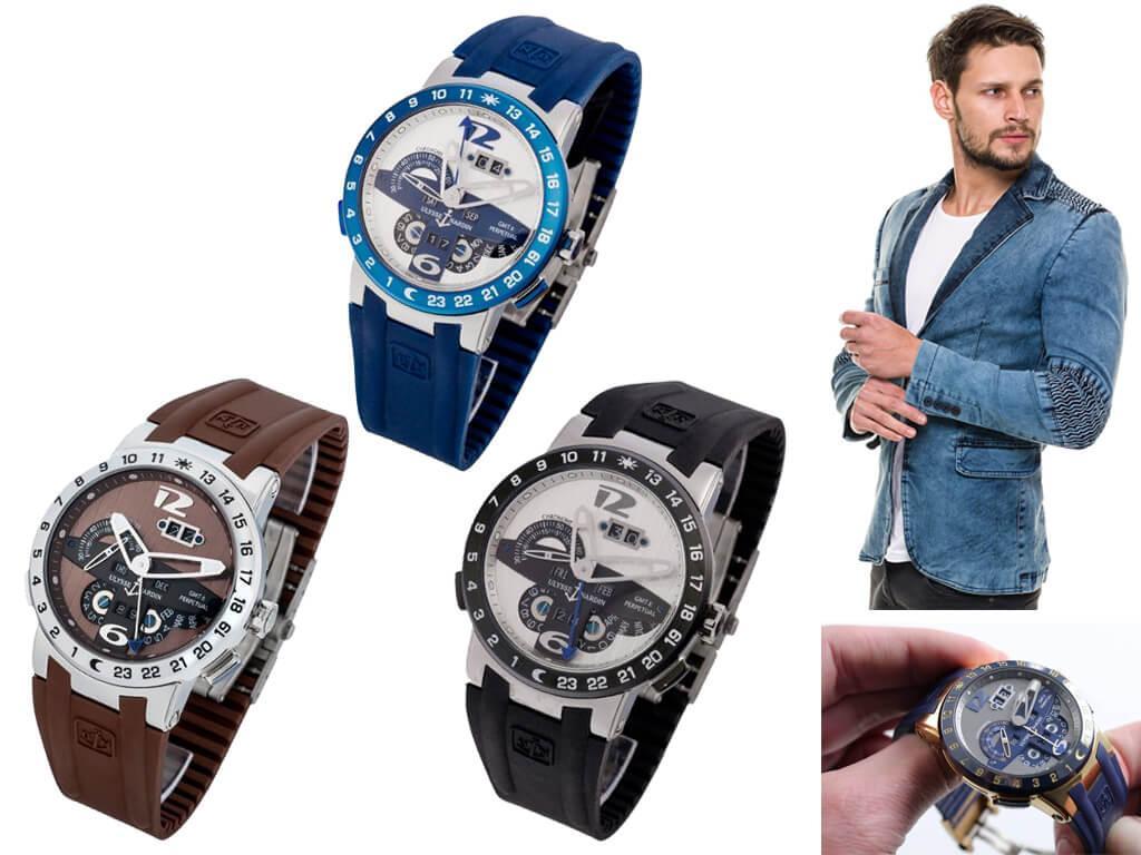 Часы мужские Ulysse Nardin El Toro GMT Perpetual из коллекции Executive