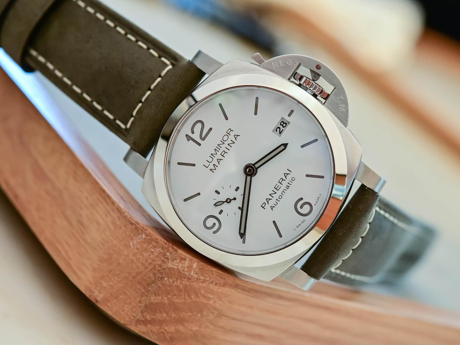 Мужские часы Panerai Luminor Marina 44 мм