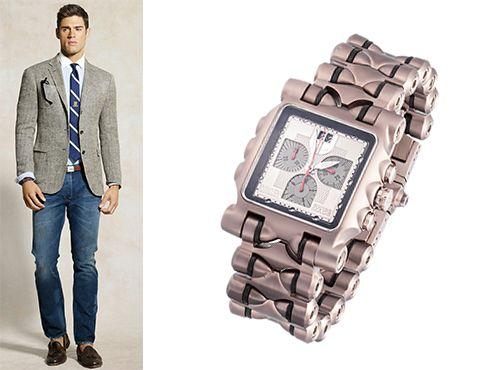 Часы на руку Оклей для мужчины