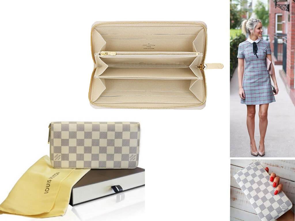 Белый кошелек - аксессуар для ценительниц утонченно-элегантного стиля