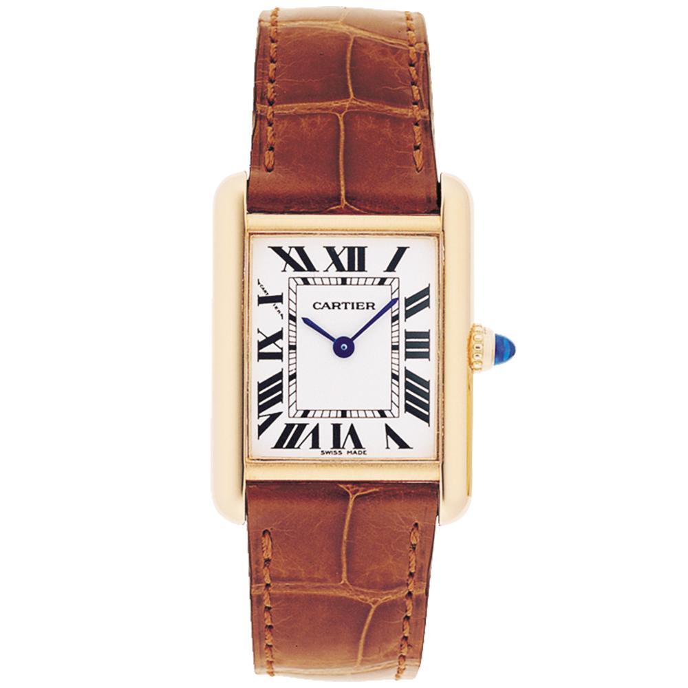 Женские часы Cartier Tank Louis 18kt желтое золото