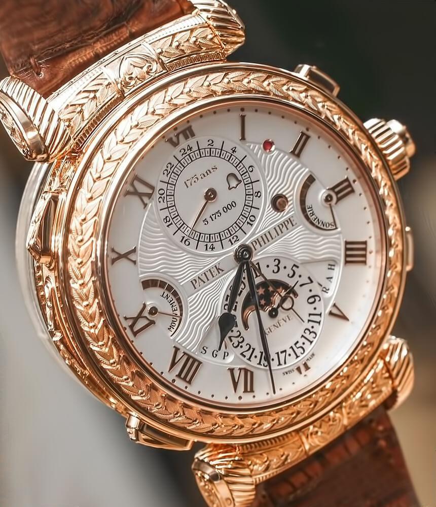 Часы Patek Philippe Grandmaster Chime Reference 6300A-010