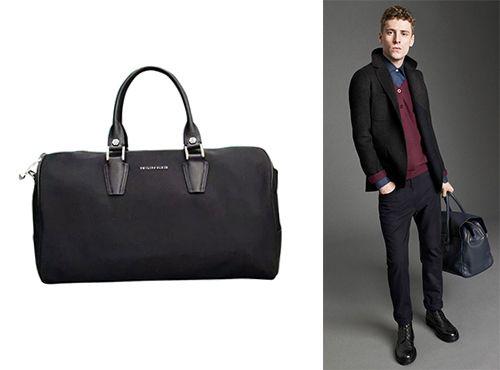 Мужская тканевая сумка Philipp Plein