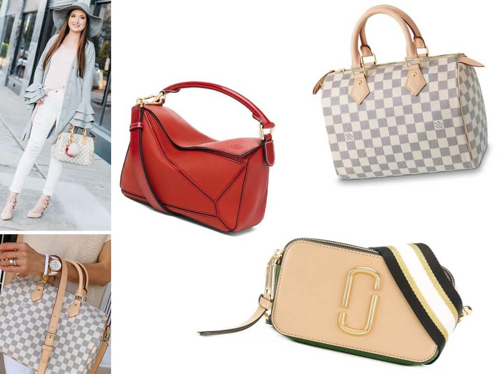 Женские сумочки на молнии