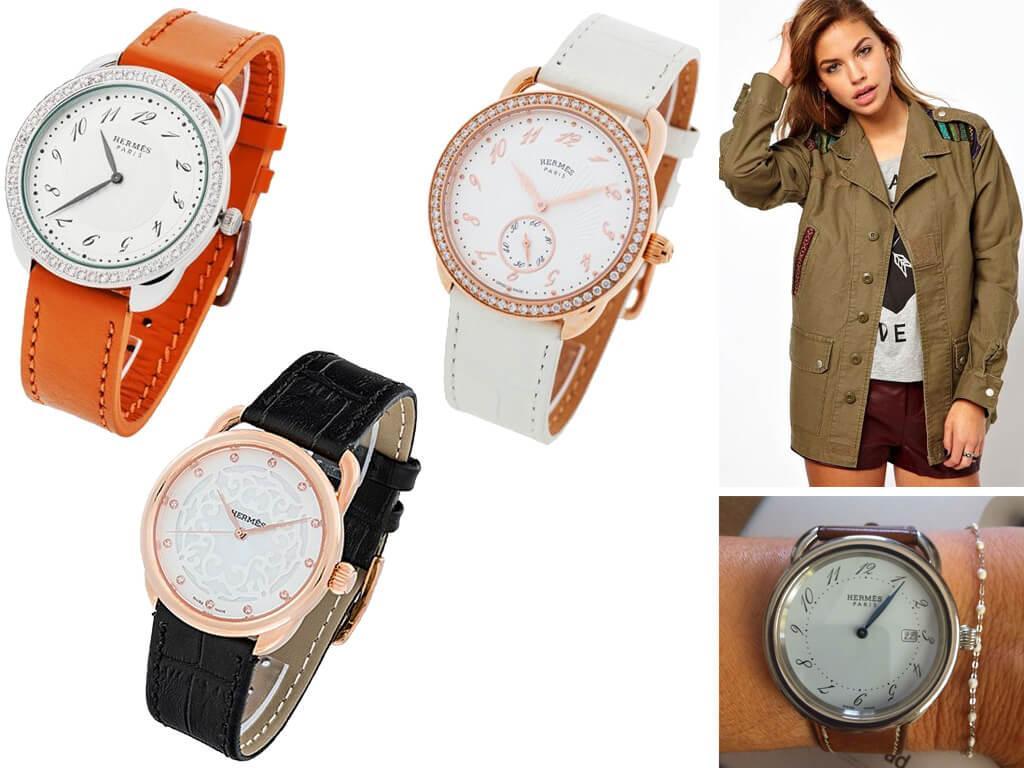 Женские часы Hermes из коллекции Arceau