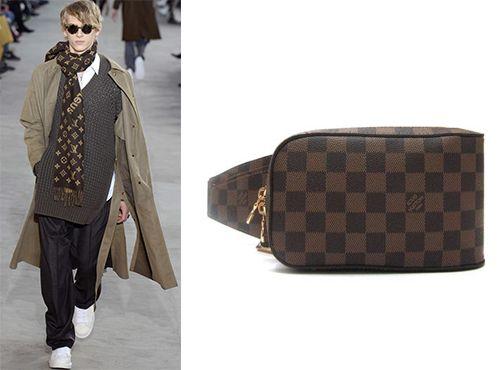 Сумка на пояс для мужчины Louis Vuitton