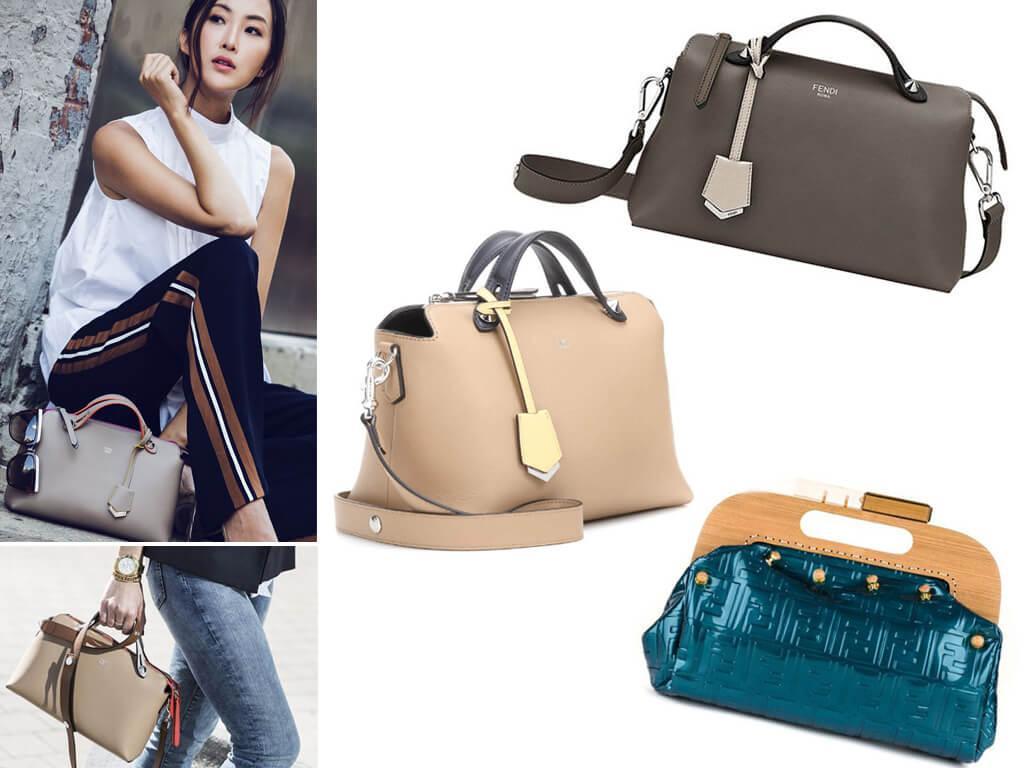 Женские сумки формы саквояж