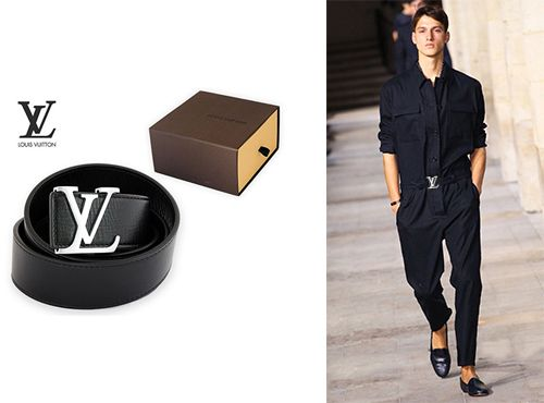 Ремень кожаный мужской Louis Vuitton