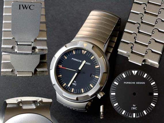 Первая модель титановых часов Porsche Design by IWC