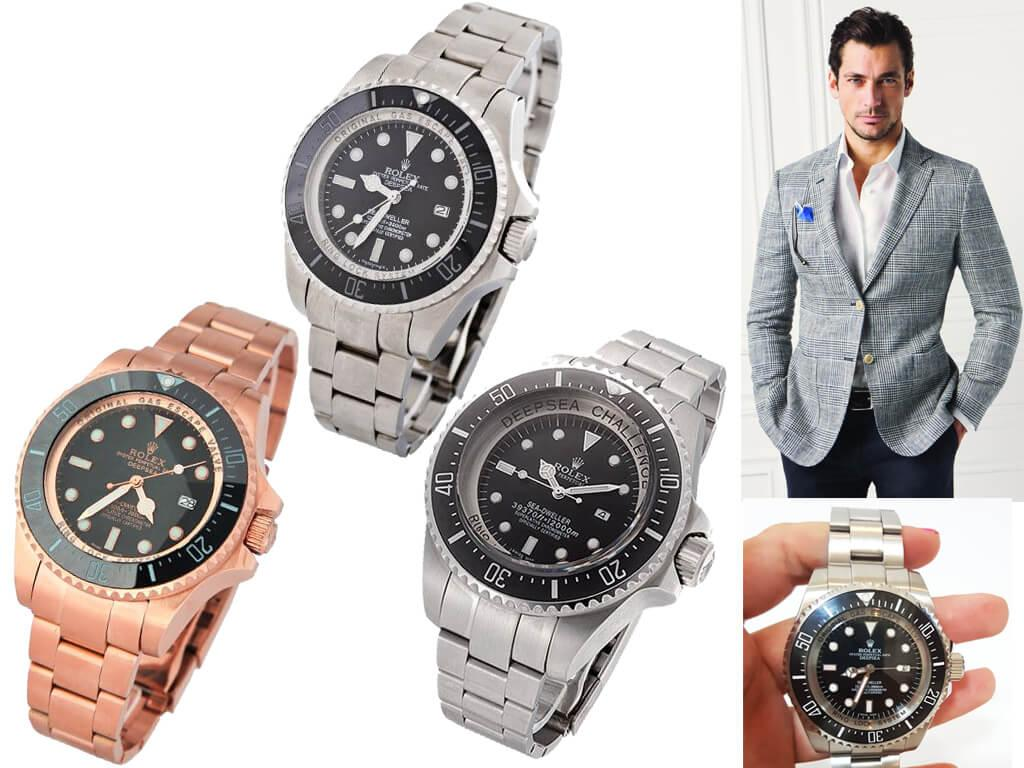 Мужские часы Rolex Deepsea
