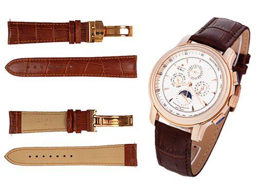 Ремень для часов Zenith коричневого цвета