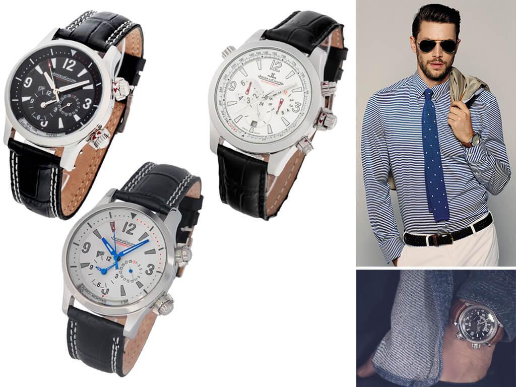 Часы мужские Jaeger Lecoultre из коллекции Master Compressor Sport and Complication