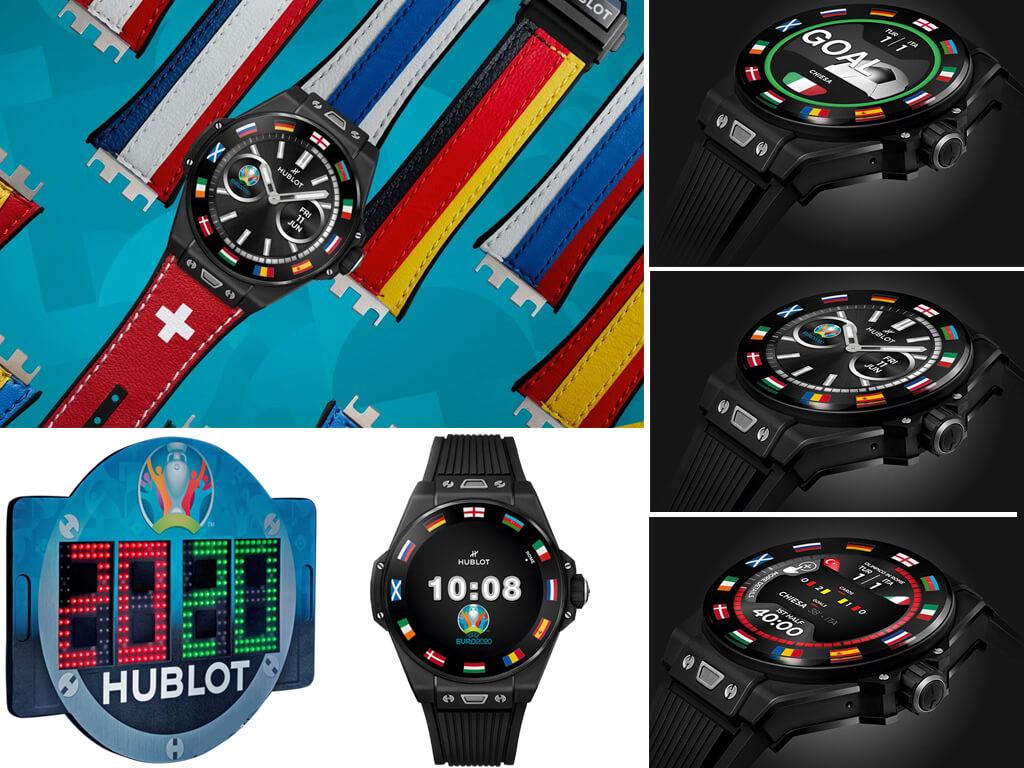 Официальные часы Чемпионата Европы по футболу Евро-2020