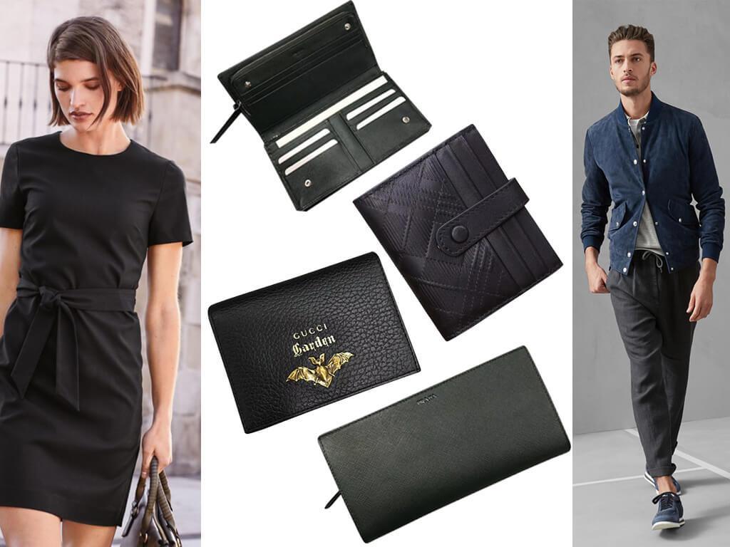 Кошельки практичного и универсального черного цвета – классическое решение, гармонирующее с любым гардеробом и безупречно в использовании.
