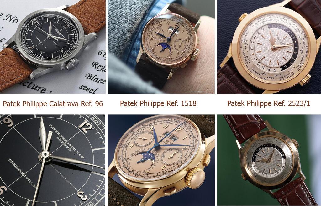 Фавориты аукционов - часы бренда Patek Philippe
