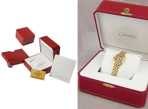 Брендовая коробка под часы Cartier (Картье)