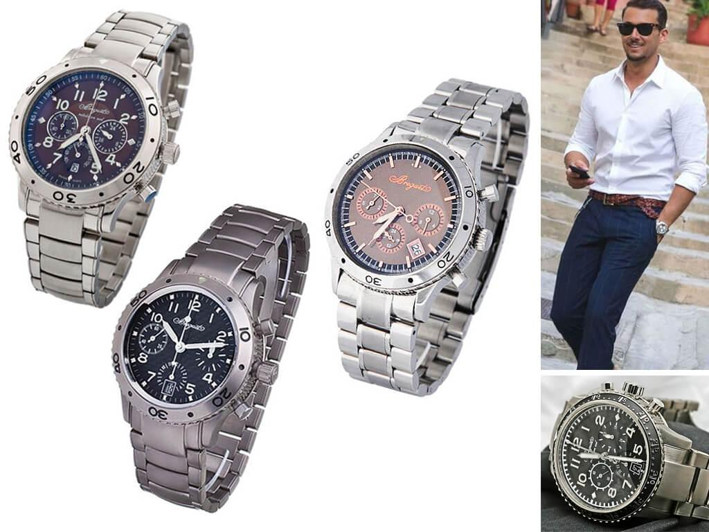 Наручные часы Breguet на браслете