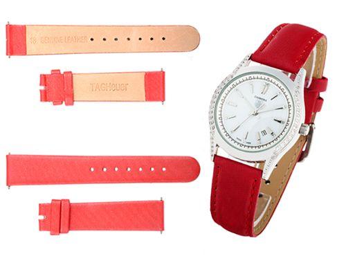 Красный браслет для часов Tag Heuer