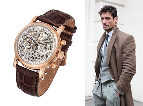 Мужские часы-скелетон от Patek Philippe