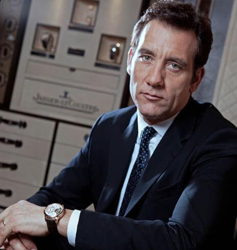 Британский актёр Клайв Оуэн - амбассадор бренда Jaeger-LeCoultre