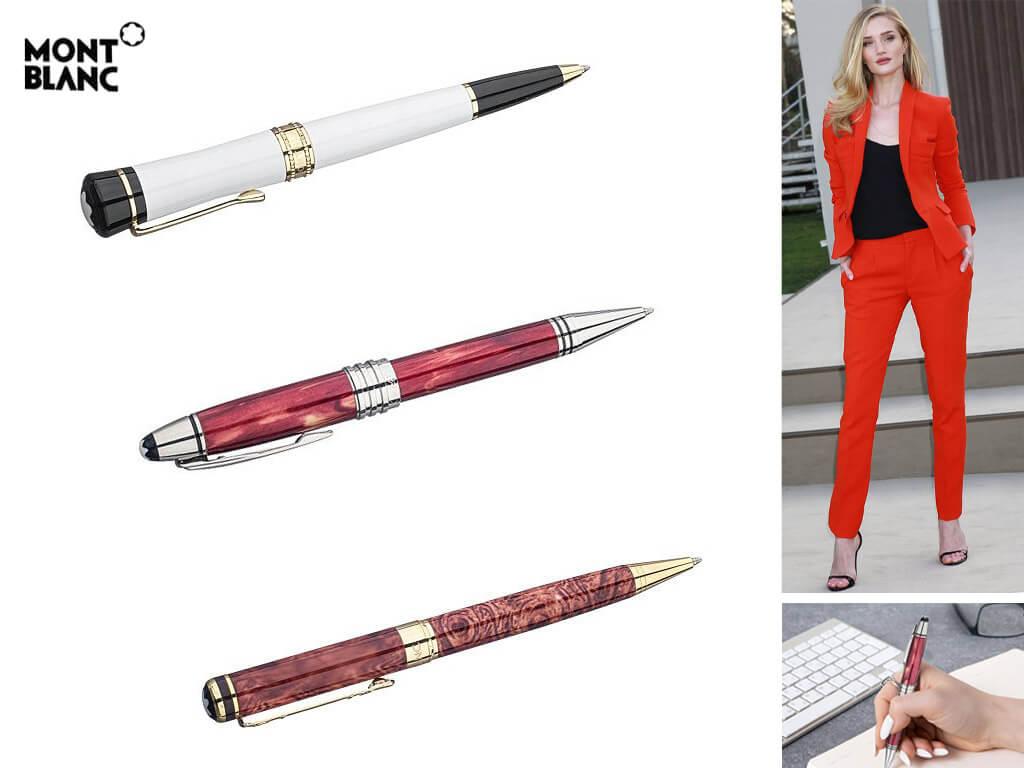 Женские ручки роллеры Монблан