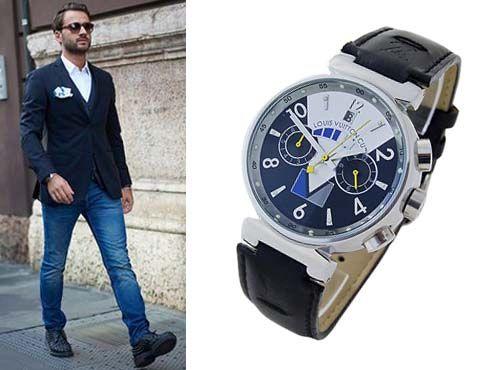 Мужские часы от Луи Витон