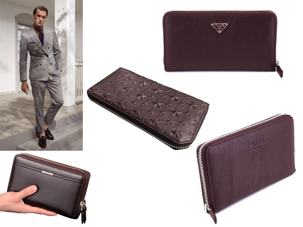 Бордовое портмоне для мужчин - стильный и выразительный аксессуар современных денди