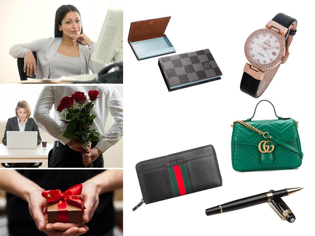 Подарки начальнице