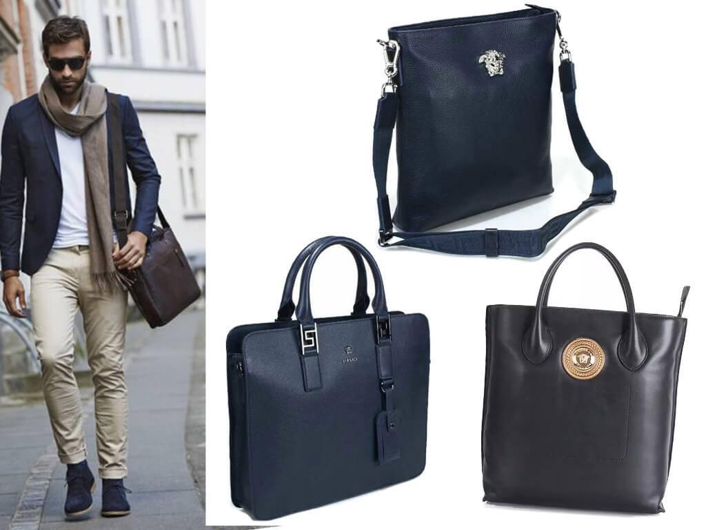 Кожаные сумки Версаче