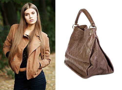 Сумка женская Louis Vuitton коричневого цвета