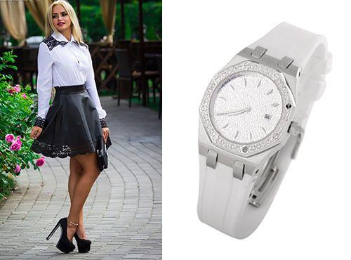 Женская копия часов Audemars Piguet Royal Oak