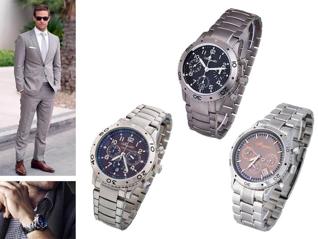 Мужские часы Брегет на браслете