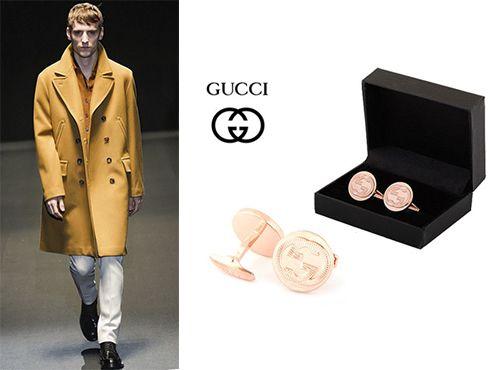 Запонки от Gucci