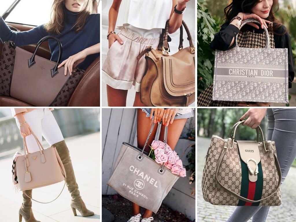 Стильные сумки тоут