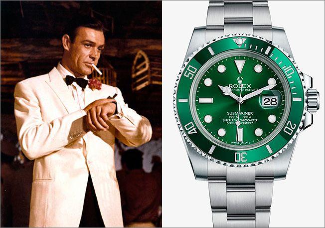 Джеймс Бонд и часы Rolex Submariner