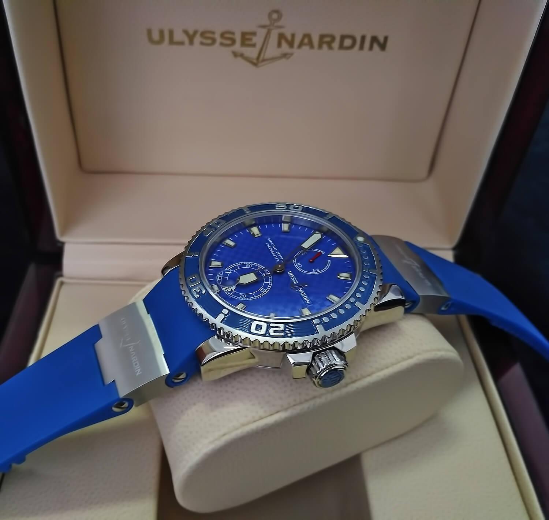 Точная реплика мужских часов Ulysse Nardin Diver Maxi Marine Diver