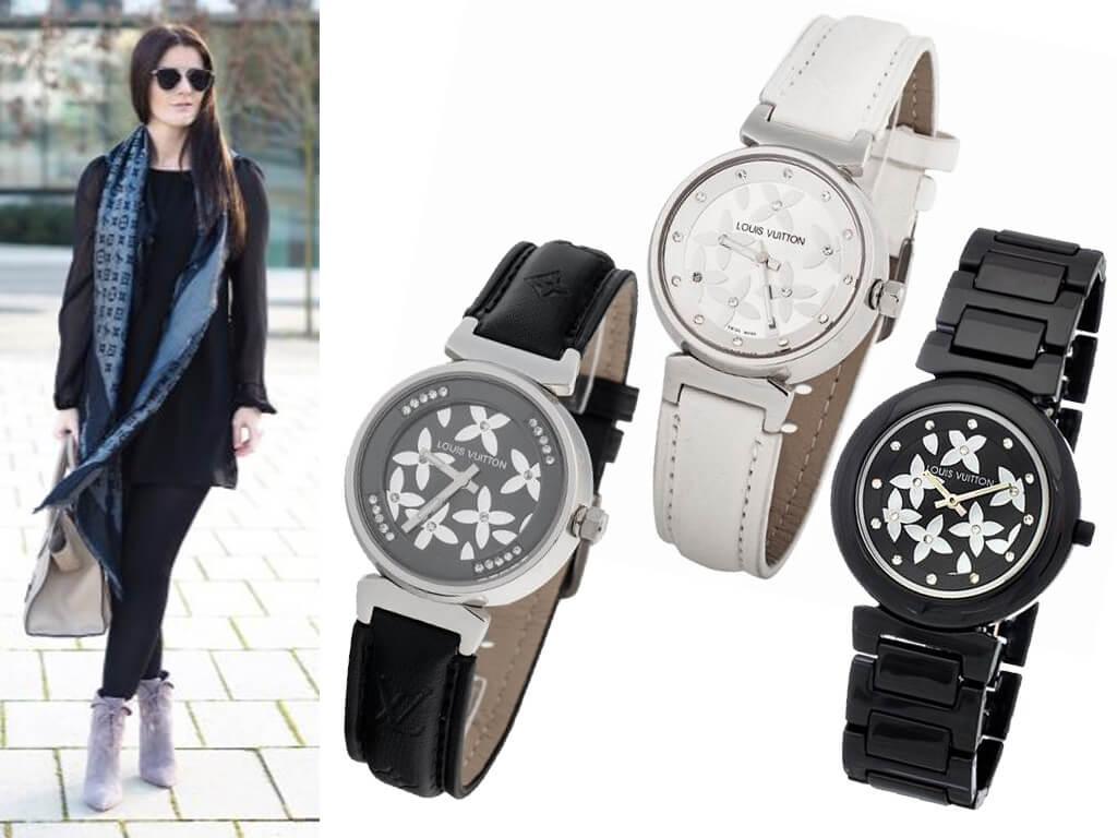 Женские часы Луи Виттон из коллекции Tambour Elegants