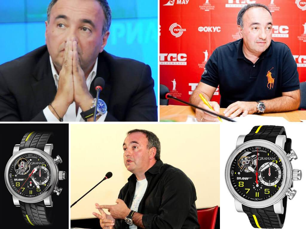 Наручные часы Александра Роднянского Graham