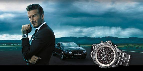 Часы Дэвида Бекхэма Breitling