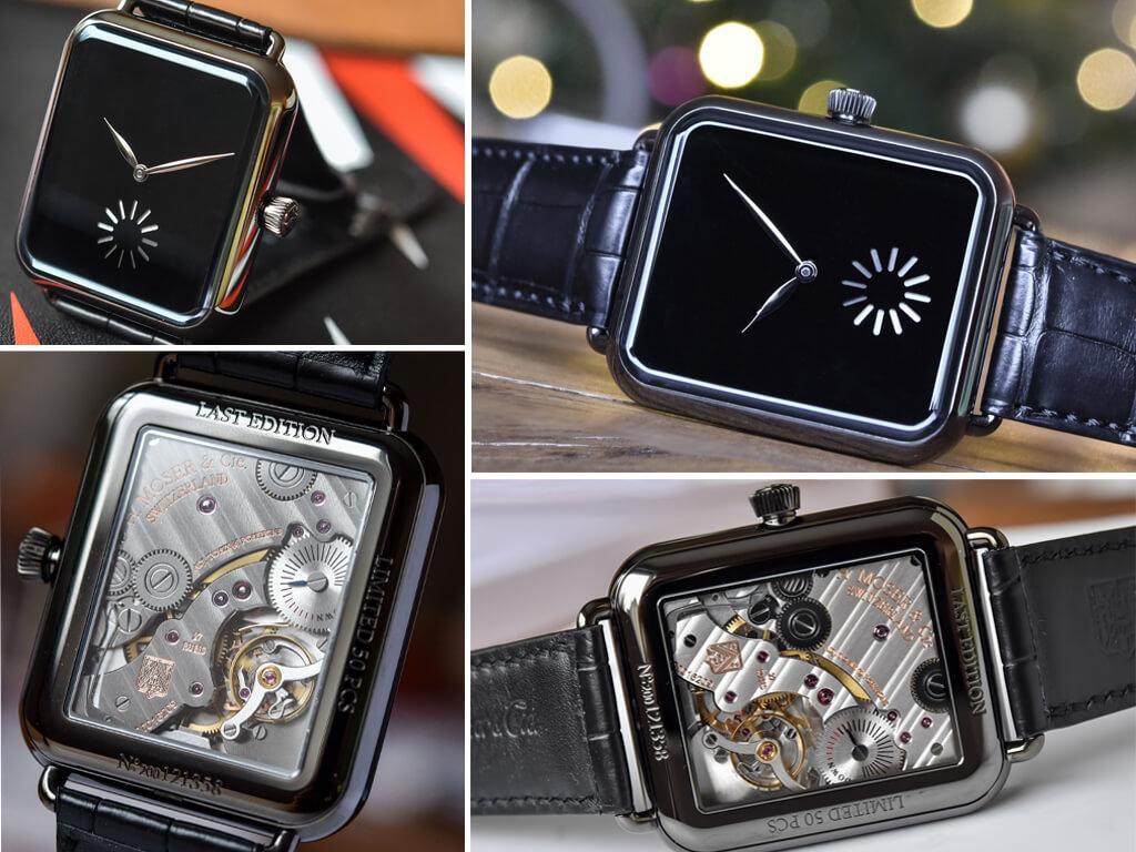 Мужские часы H.Moser & Cie Swiss Alp Watch серии Final Upgrade