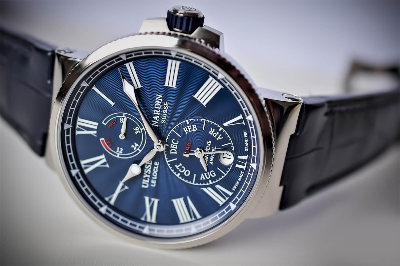 Часы Ulysse Nardin Marine Annual Calendar Chronometer