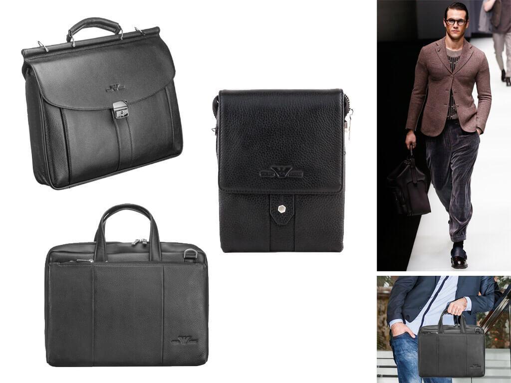 Кожаные сумки Армани