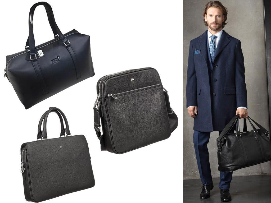 Кожаные сумки Монблан
