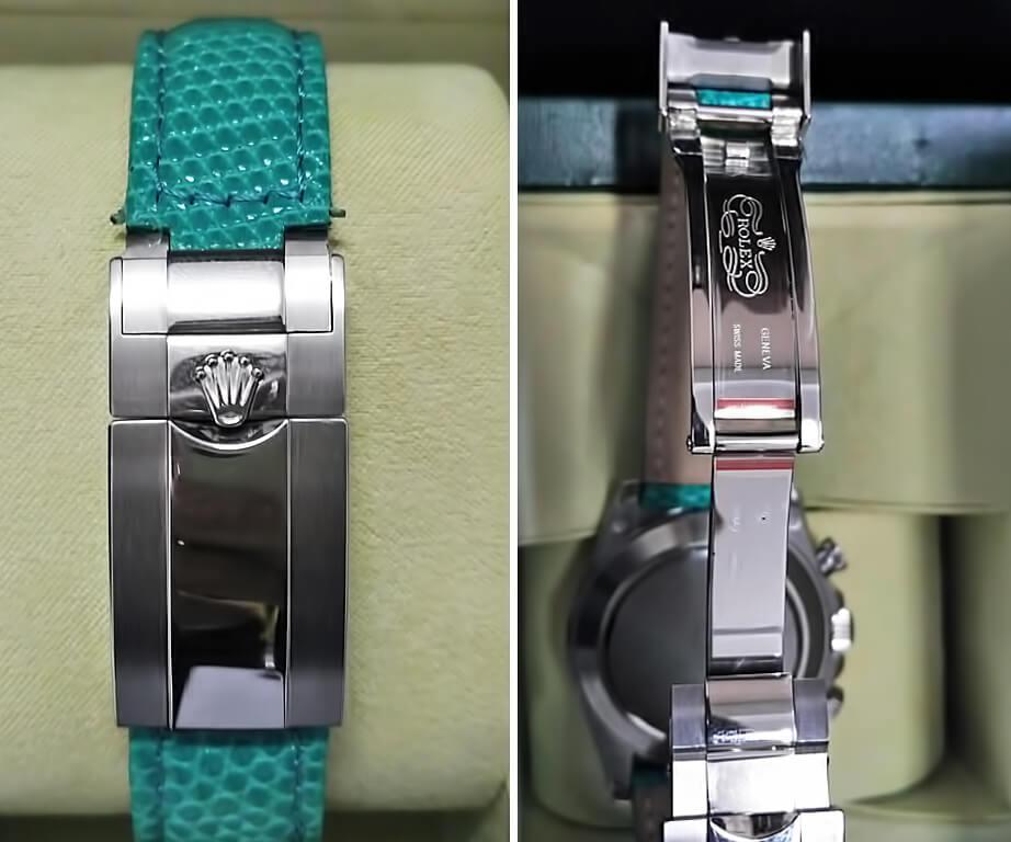 Застежка в Rolex Cosmograph Daytona Beach Green 40mm