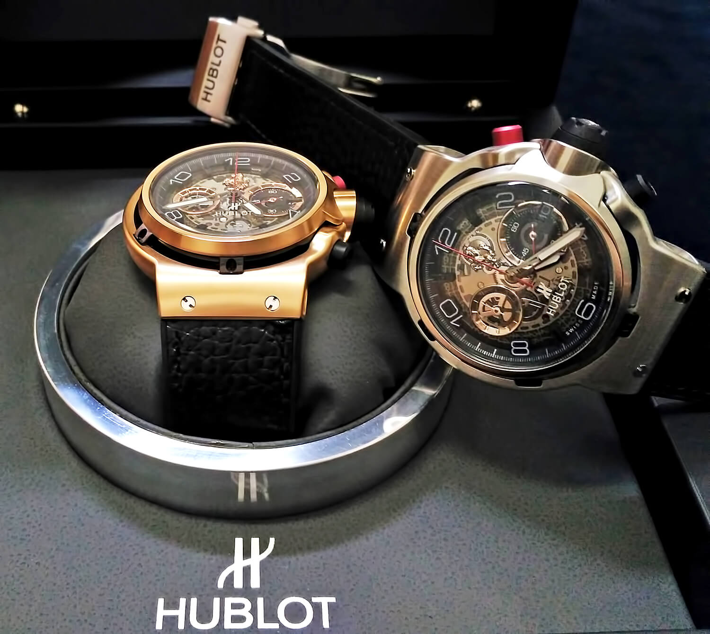 Мужские часы Хаблот из коллекции Classic Fusion Ferrari GT