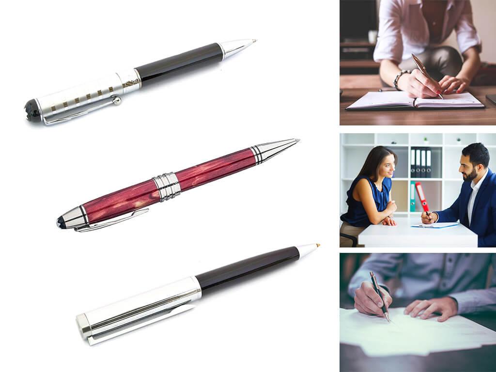 Брендовые ручки роллер с поворотным механизмом