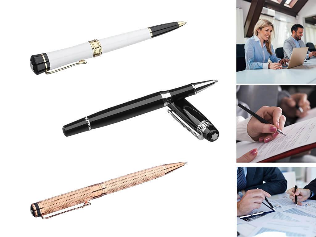 Фирменные ручки роллеры с логотипом для мужчин и женщин