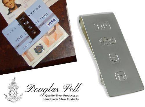 Зажим для денег Douglas Pell money clip