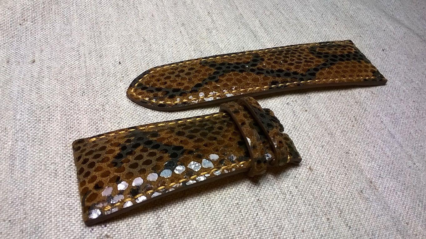 Ремешки для часов из лаковой кожи, индивидуальный пошив